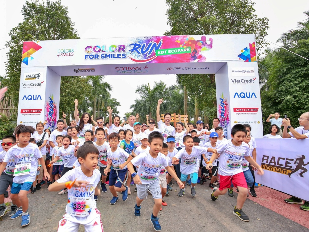 Color Run For Smiles 2019